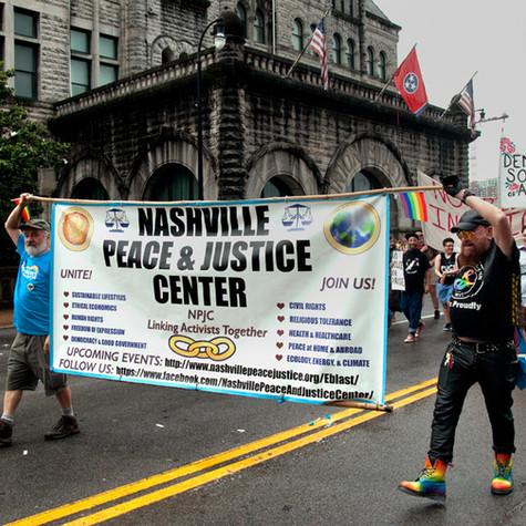 Nashville Pride March, 2019