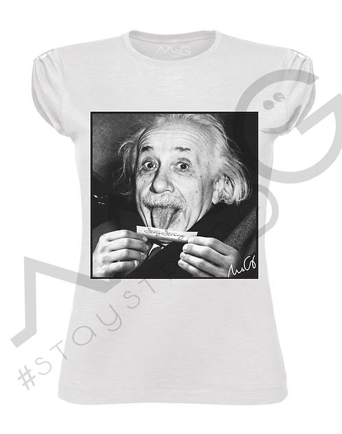 """T-Shirt """"EinsteinRizla """" donna"""