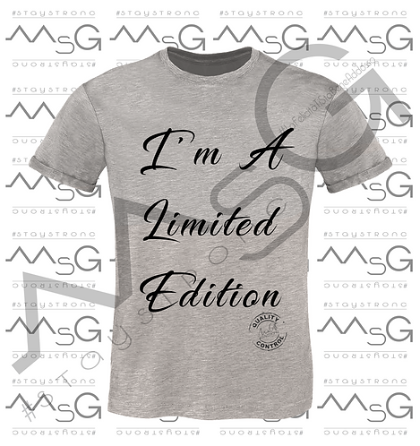 """Limited Edition"" - Man"
