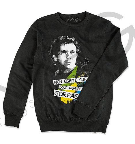 Ayrton Senna- Felpa Uomo Girocollo