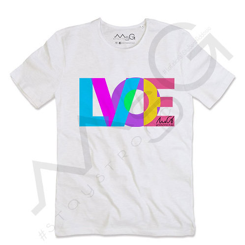 "T-shirt ""LOVE"" - Uomo"