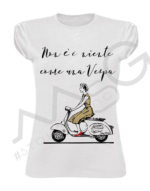 "T-Shirt "" Vespa"" donna"