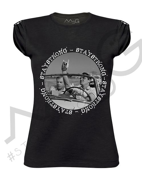"T-Shirt ""Il sorpasso"" donna"