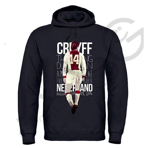"""Offerta""""Cruyff"""" - Felpa Cappuccio"""