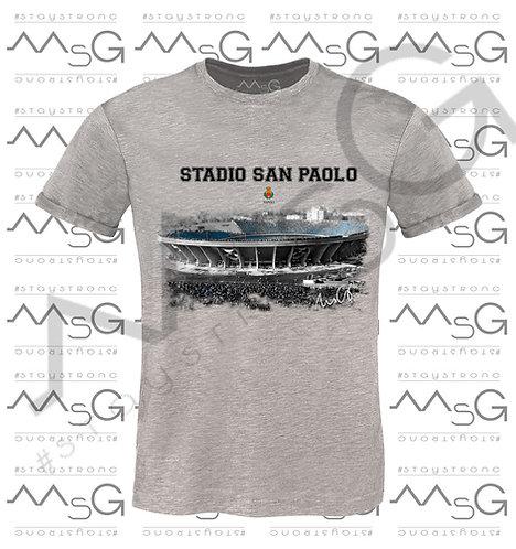 "T-shirt ""Stadio San Paolo"" - Man"