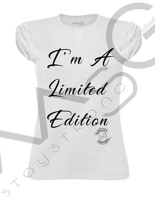 "T-Shirt ""Limited Edition"" donna"