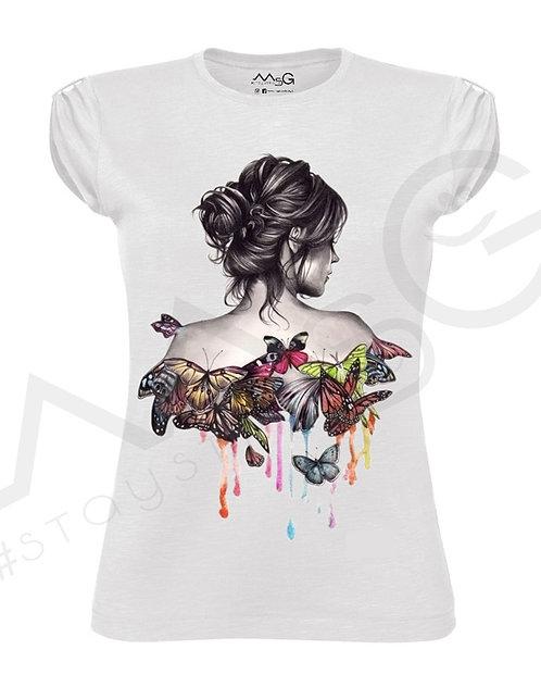"T-Shirt ""Freedom"" donna"