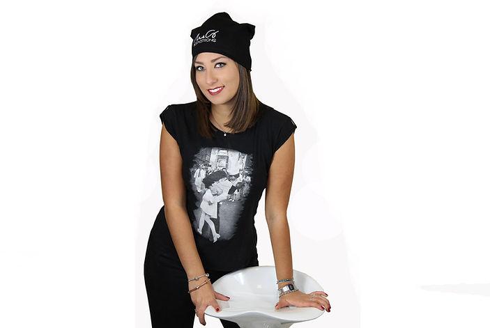 T-shirt bacio
