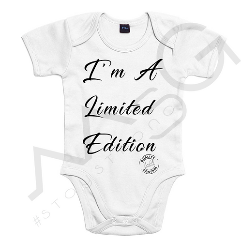 Body Baby - I'm a limited edition