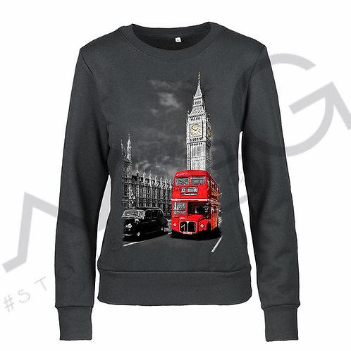 "Felpa ""Londra"" donna"