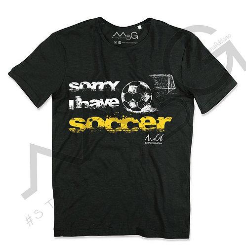 Sorry i have soccer