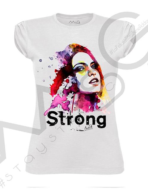 "T-Shirt ""Strong"" donna"