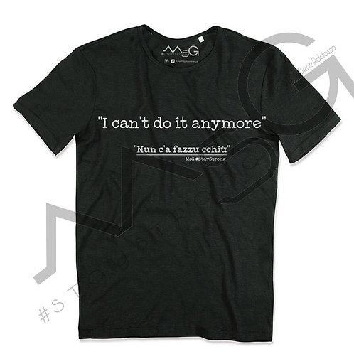 """T-shirt - """"Nun c'ha fazzu cchiu"""" Uomo"""