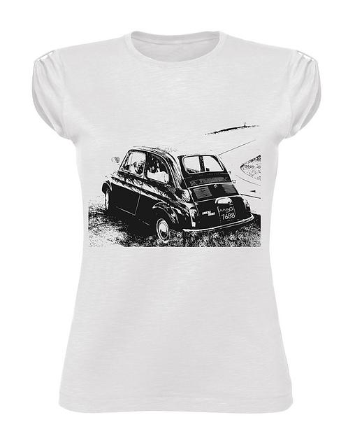 """T-Shirt """"500"""" donna"""