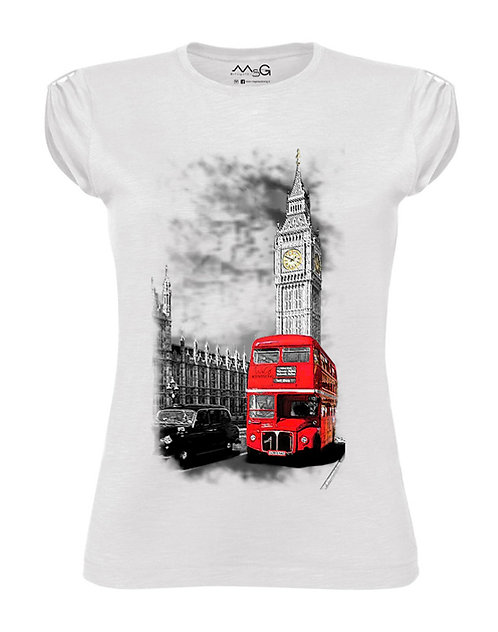 """T-Shirt """"London ..."""" donna"""