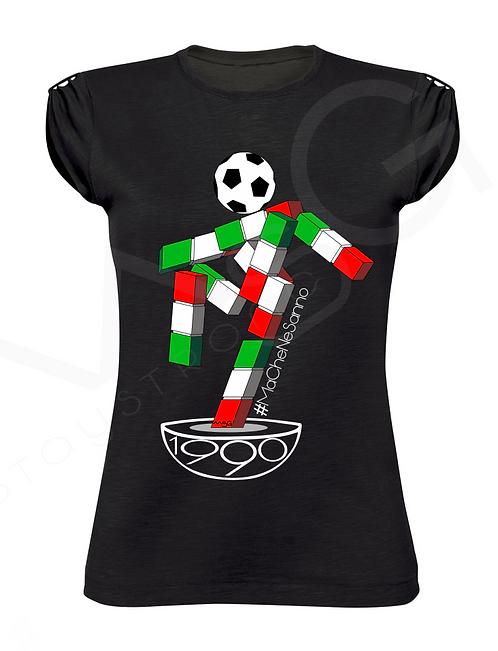 """T-Shirt """"Italia90"""" donna"""