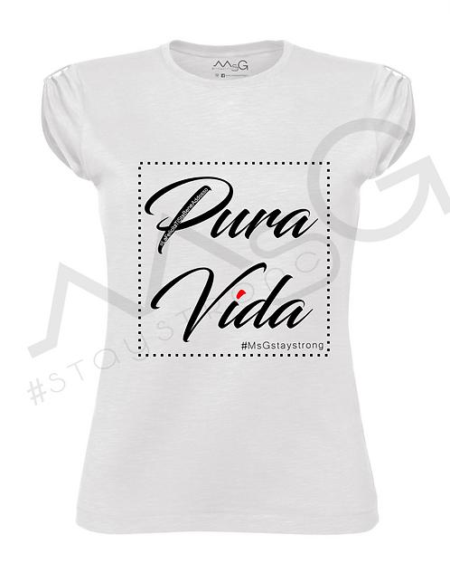 "T-Shirt ""Pura Vida"" donna"