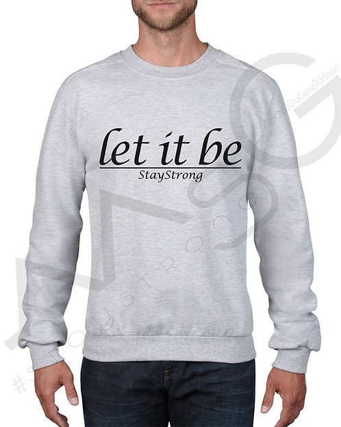 """""""Let it be"""" - Felpa uomo"""