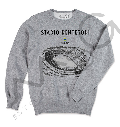 """Stadio Bentegodi"" - Felpa Uomo"