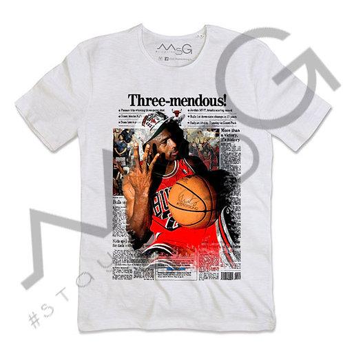 "T-shirt ""Three mendous"""