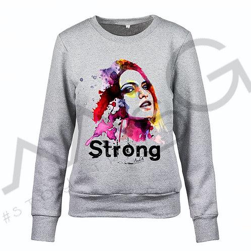 """Felpa """"Strong"""" donna"""