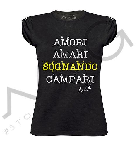 """T-shirt """"Amori&Campari"""" donna"""