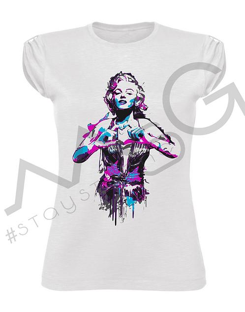"T-Shirt ""Marilyn Love"" donna"
