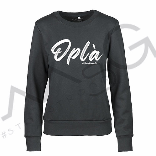 "Felpa ""Oplà"" Donna"