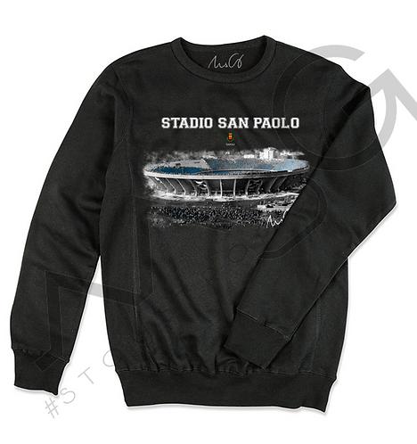 """Stadio San Paolo"" - Felpa Uomo"