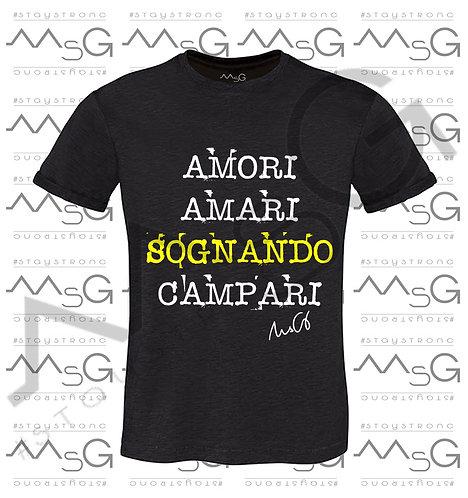 """T-shirt """"Amari&Campari"""" - Man"""