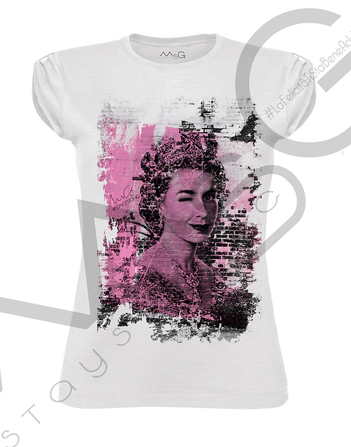 "T-Shirt ""Elizabeth"" donna"