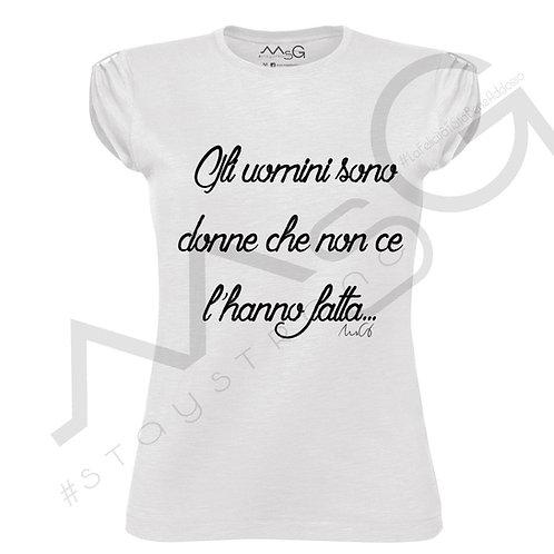 "T-shirt ""Gli uomini"""