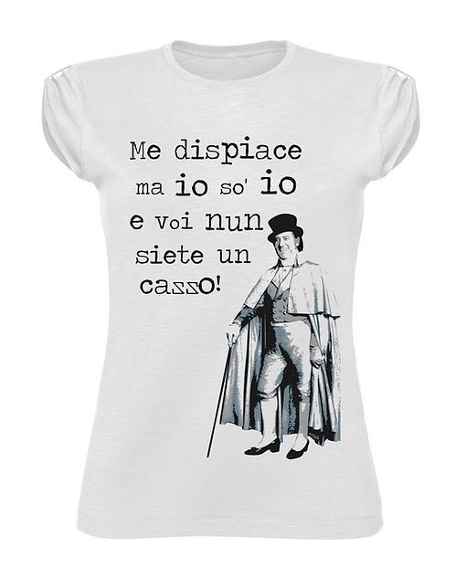 """T-Shirt """"Marchese del grillo"""" donna"""