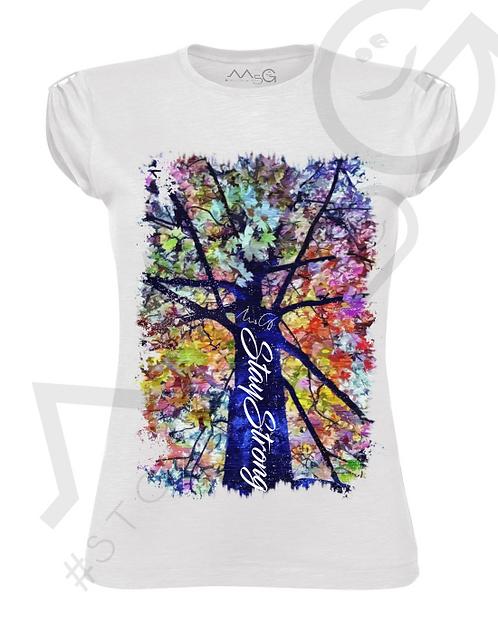 "T-Shirt "" Flowers"" donna"