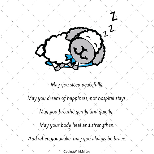 Lu's Bedtime Wish (printable)