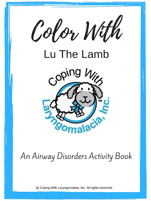 Color With Lu Activity Book (printable)