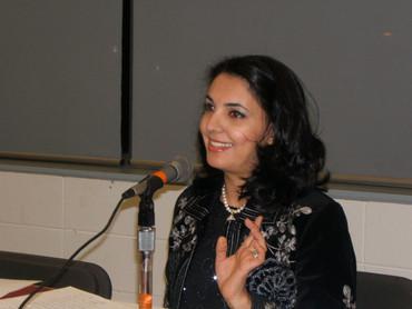 Soirée de Poésie. 22 janvier 2011. Arwa Alsamura'y