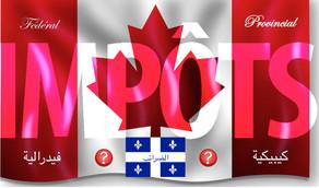 Le système d'imposition canadien