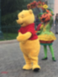 Winnie The Pooh Disneyland Paris Parade