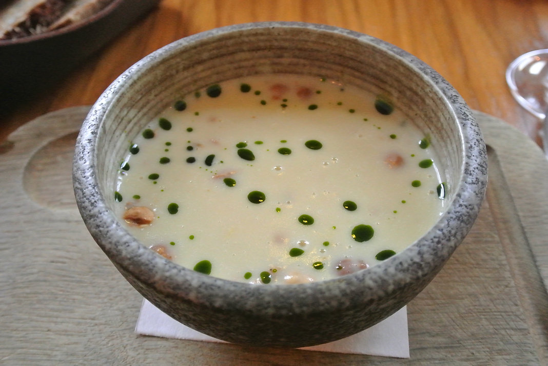 The Pigs Ear Dublin Celeriac Soup