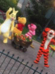 Winnie The Pooh Rabbit Tigger Piglet Disneyland Paris Parade