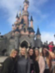 Girls at Disneyland Paris