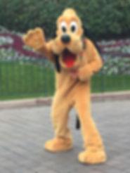 Pluto Disneyland Paris Parade