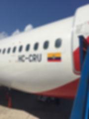 Avianca Airline Aeroplane Plane Ecuador