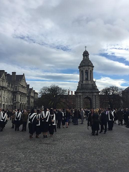 Trinity College Dublin Graduation