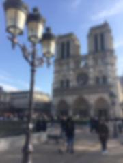 Paris Notre Dame Summer