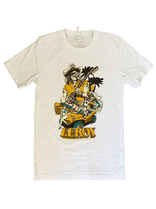 Leroy From the North Dune Buggy Shirt White