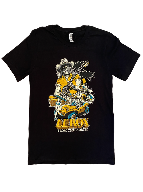 Leroy From the North Dune Buggy Shirt Black