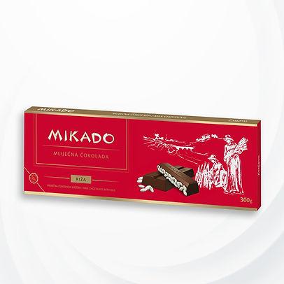 Mikado riža čokolada