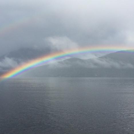 Rainbow in Dusky Sound